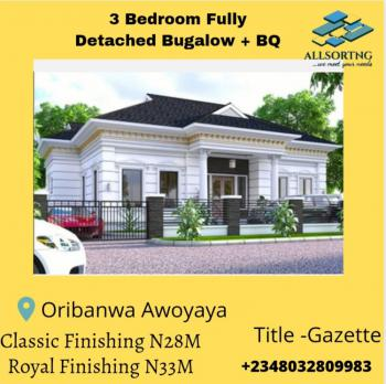 Fully Finished  3 Bedroom Fully Detached Bugalow., De Castle, Oribanwa, Ibeju Lekki, Lagos, Detached Bungalow for Sale