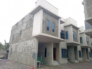 Serviced & Beautifully Built 4 Bedroom Terrace Duplex, Osapa, Lekki, Lagos, Terraced Duplex for Sale