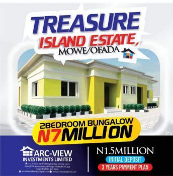 2  Bedroom Bungalow, Orilemo @shagamu Interchange, Mowe Ofada, Ogun, Semi-detached Bungalow for Sale