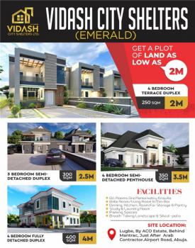 Land, By Aco Estate Behind Mantrac After Arab Contractor Airport Road, Lugbe District, Abuja, Residential Land for Sale