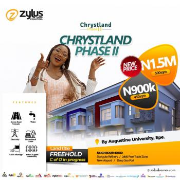 Beautiful Land Location to Own, St. Augustine University, Chrystland Estate Phase Ii, Epe, Lagos, Residential Land for Sale