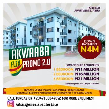 One Bedroom Luxurious Apartment, Fairfield Apartments, Abijo, Lekki, Lagos, Block of Flats for Sale