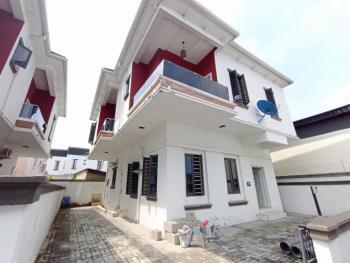 Newly Built Spacious 4 Bedroom Serviced Detached Duplex with a Room Bq, Conservative Axis, Lafiaji, Lekki, Lagos, Detached Duplex for Rent