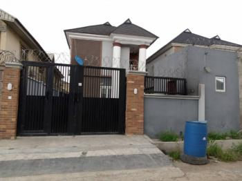 4 Bedrooms with Two Rooms Bq and C of O, Maplewood Estate, New Oko-oba, Agege, Lagos, Semi-detached Duplex for Sale