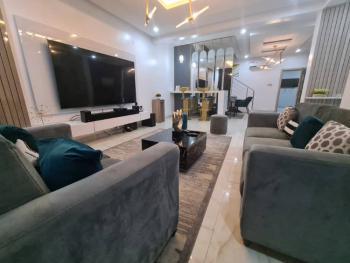 Luxurious 4 Bedroom Mansion with Swimming Pool and Soccer Board, Oniru, Victoria Island (vi), Lagos, Semi-detached Duplex Short Let