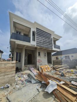 4 Bedroom Semi Detached Duplex with a Domestic Quarter, Before Chevron., Ologolo, Lekki, Lagos, Semi-detached Duplex for Sale