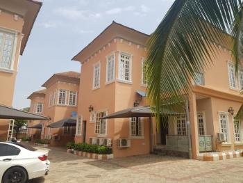 a  Brand New 6 Unit of 4 Bedrooms Terrace with an Attach Bq Each, Katampe Extension, Katampe, Abuja, Terraced Duplex for Sale