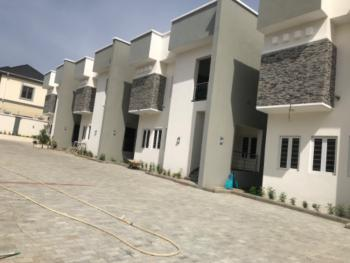 Contemporary 3 Units of 3 Bedroom Spacious Duplexes, Bq (on 1floor), Guzape, Guzamala, Borno, Terraced Duplex for Sale