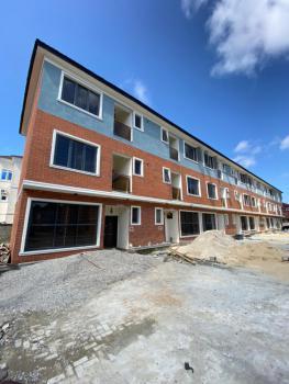 Brand New 4 Bedroom Terrace with Bq, Osapa, Lekki, Lagos, Terraced Duplex for Sale