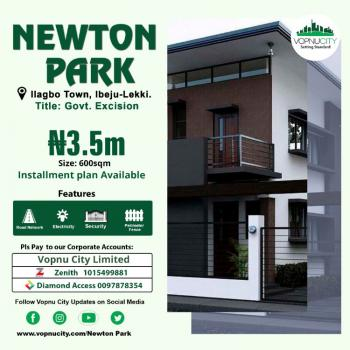 Newton Park, 8min From Dangote Refinery, Ibeju, Lagos, Residential Land for Sale
