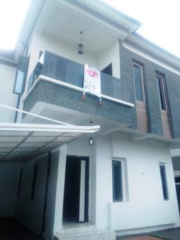 Lovely 4 Bedrooms Semi Detached Duplex with a Room Bq, Chevy View Estate, Lekki, Lagos, Semi-detached Duplex for Rent