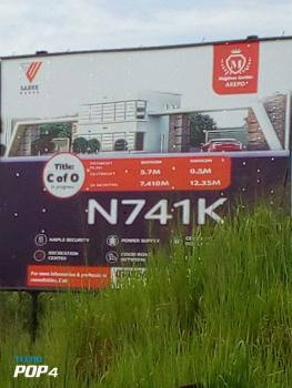 Land in Serene Estate with C of O, Arepo, Association Road., Berger, Arepo, Ogun, Residential Land for Sale