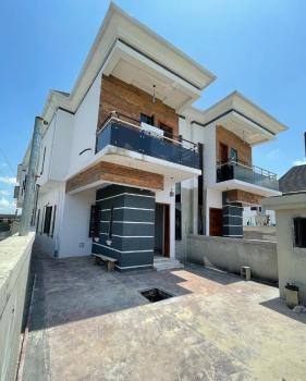 Brand New 4 Bedroom Semi Detached Duplex with a Bq!, Chevron, Lekki, Lagos, Semi-detached Duplex for Sale