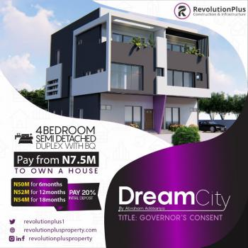 4 Bedroom Flats, Abraham Adesanya, Ajah Dream City Estate, Ajah, Lagos, Block of Flats for Sale