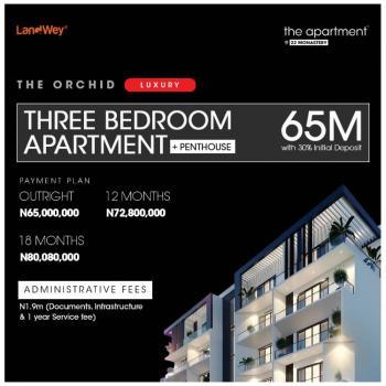 Luxury 3 Bedrooms Apartment, Along Monastery Road, Behind Shoprite, Sangotedo, Ajah, Lagos, Block of Flats for Sale