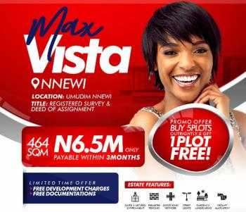 100% Dry Land for Buy & Build, Max Villa,umudim, Nnewi, Anambra, Mixed-use Land for Sale
