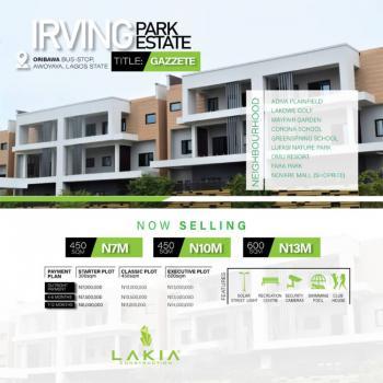 Beautiful Serene Location You Deserve....fast Selling !!!!., Irving Park Estate, Oribawa Bustop, Awoyaya, Ibeju Lekki, Lagos, Residential Land for Sale