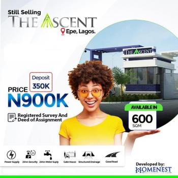 600sqm Lands in The Ascent, Talara-oke, Igbonla, Epe, Lagos, Mixed-use Land for Sale