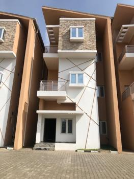 a Truly Aesthetically Designed Bespoke 4 Bedroom Terrace Family Home, Guzape District, Abuja, Terraced Duplex for Sale