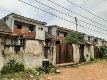 1,890sqm Land Plot with Old 5 Units of 4 Bedrooms Duplex + Bq, New Bodija, Ibadan, Oyo, Semi-detached Duplex for Sale