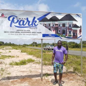 600 Sqm Plots of Land in Swan Park Estate, Asegun Village, Ibeju Lekki, Lagos, Mixed-use Land for Sale