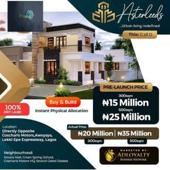 Asterleeds, Opposite Coscharis Motors, Awoyaya, Ibeju Lekki, Lagos, Mixed-use Land for Sale