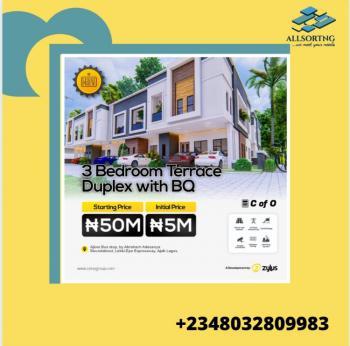 3 Bedrooms Terraced Duplex Plus a Bq (off Plan), Lekki Pride Estate, Ajiwe, Ajah, Lagos, Terraced Duplex for Sale