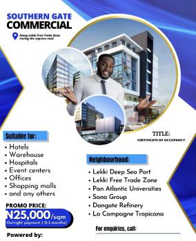 Commercial Plot of Land By The Road, By The Dangote Refinery Main Expressway, Ibeju Lekki, Lagos, Commercial Land for Sale