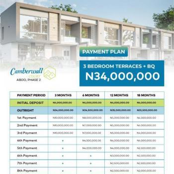 Luxury 3 Bedroom Terrace Duplex with Bq, Abijo, Lekki, Lagos, Terraced Duplex for Sale