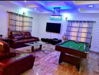 Luxury 3 Bedroom with Snooker and Treadmill, Chevron Drive, Lekki, Lagos, Semi-detached Bungalow Short Let