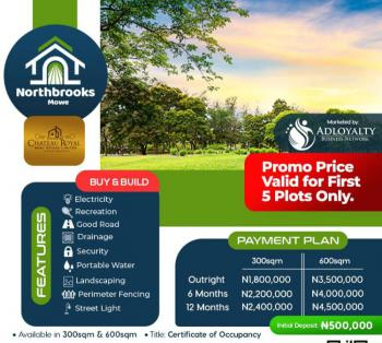 Plot of Estate Land in Good Location, Northbrooks Estate, Opposite Christopher University Near Youth Church, Mowe Ofada, Ogun, Residential Land for Sale