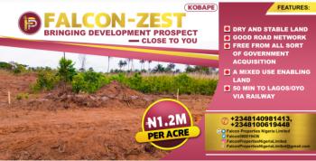 Residential and Farm Land, Kobape, Abeokuta South, Ogun, Mixed-use Land for Sale