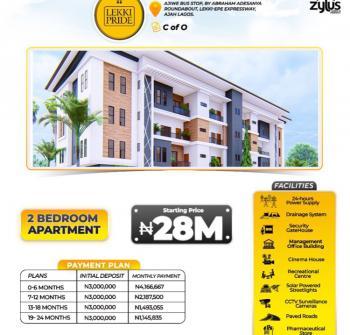 Off Plan Luxury 2 Bedroom, Abraham Adesanya, Ajah, Lagos, Flat for Sale