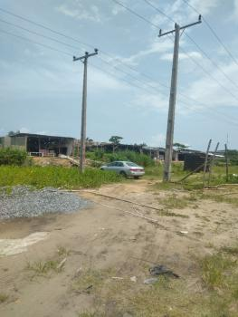 2 Plots of Land Facing Expressway, Blue House to Container, Abijo, Lekki, Lagos, Commercial Land for Sale