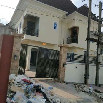 Newly Built 4 Bedroom Detached Duplex with a Room Bq on Half Plot, Adeola Avenue, Karaole Estate, Ogba, Ikeja, Lagos, Detached Duplex for Sale