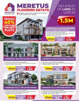 Meretus Royal Homes Fantastic Promo, Besides Cosa/aco, Lugbe District, Abuja, Residential Land for Sale