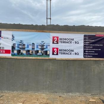 2  Bedrooms Terrace, Opposite Villac International School, Abijo, Lekki, Lagos, Terraced Duplex for Sale