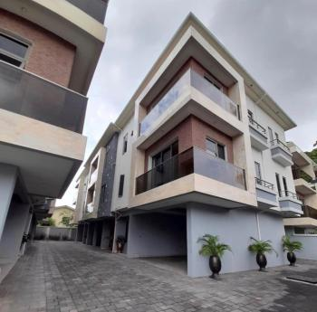Exquisitely Finished 4 Bedroom Terrace with a Room Bq, Old Ikoyi, Ikoyi, Lagos, Terraced Duplex for Sale