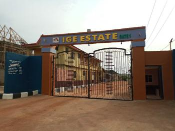 Half Plot of Land in a Secured Estate with Constant Electricity, Ige Estate, Off Ikola Road, Ajasa Command, Meiran, Agege, Lagos, Residential Land for Sale