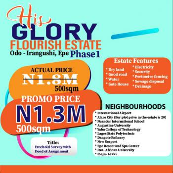 a Plot of Land, at The Back of Yabatech, Epe, Lagos, Mixed-use Land for Sale
