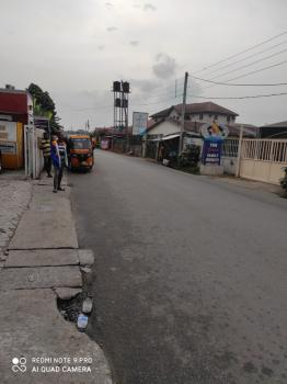 Genuine 2 Plot with Federal Light in Busy Junction, Opposite Nta Junction Ph, Port Harcourt, Rivers, Office Space for Sale