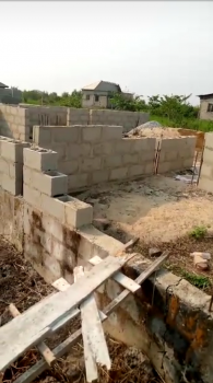 a Plot of Land with 3 Bedroom Foundation, Harmony Estate, Ajah, Lagos, Residential Land for Sale