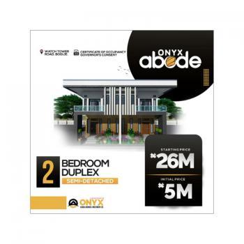 Luxury 2 Bedroom Semi-detached Duplex with Great Facilities, Bogije, Ibeju Lekki, Lagos, Detached Duplex for Sale