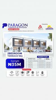 Luxury 2 Bedroom Terrace Duplex Plus Bq, Abraham Adesanya, Lekki, Lagos, Terraced Duplex for Sale