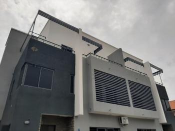 Partially Serviced New 4 Bedroom Duplex with a Bq in Shared Compound, Lekki Phase 1, Lekki, Lagos, Semi-detached Duplex for Rent