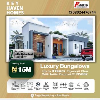 2 Bedroom Fully Detached Bungalow, Bogije, Ibeju Lekki, Lagos, Detached Bungalow for Sale