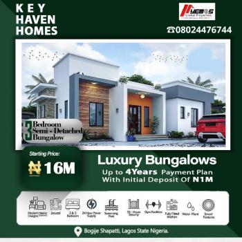 3 Bedroom Semi Detached Bungalow, Bogije, Ibeju Lekki, Lagos, Semi-detached Bungalow for Sale