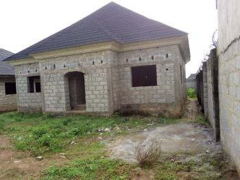 3 Bedroom Bungalow Carcass Without Bq But There Is Space for Bq, Sungold Estate Galadima, Galadimawa, Abuja, Detached Bungalow for Sale
