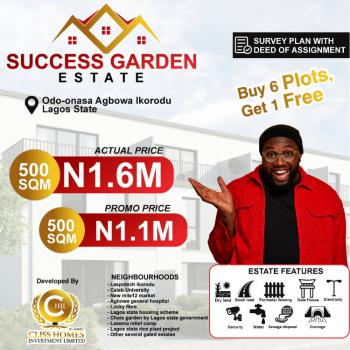 Best Place in Ikorodu with Dry Land, Agbowa, Ikorodu, Lagos, Mixed-use Land for Sale