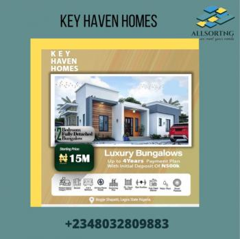 Most Affordable Off-plan 2 Bedroom with Instant Allocation, Key Haven Homes, Bogije, Ibeju Lekki, Lagos, Detached Bungalow for Sale